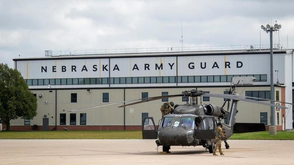 Nebraska National Guard deployed to support Hurricane Florence