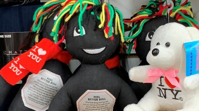 """Image result for So-called """"Feel better dolls,"""" which resemble black rag dolls"""